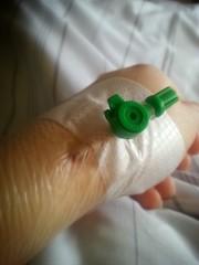 Zugang im Krankenhaus