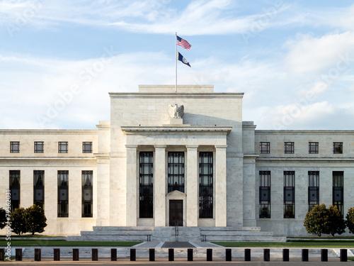 Federal Reserve Building, Washington DC, USA. - 79562031