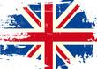 Scratched UK Flag - 79563681