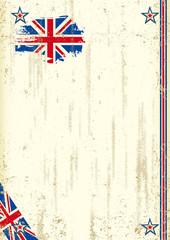 United Kingdom retro background
