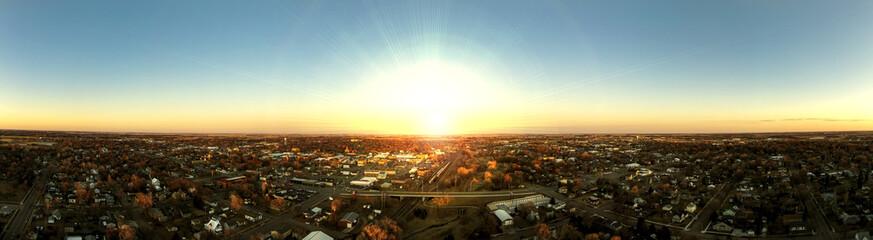 Sunrise Panoramic of Mitchell, SD