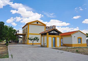 Antigua estación de tren, Urda, Toledo, Castilla-La Mancha
