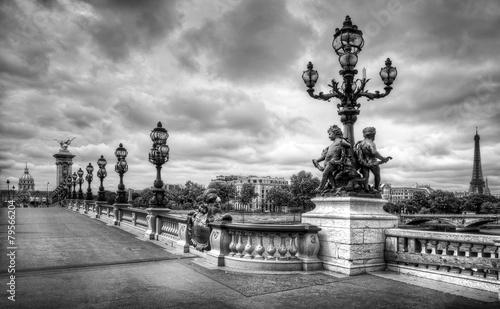 Paris pont Alexandre III, Paris