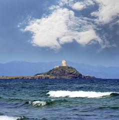 Sardinia, Nora, ancient spanish tower of Coltellazzo