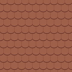 Beaver tail tile - seamless tileable
