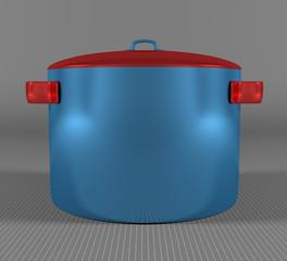 Blue pan