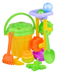 Children's toys beach kit