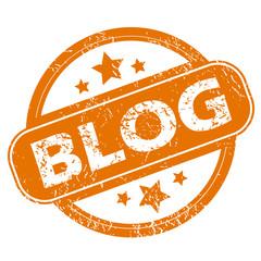Blog grunge icon