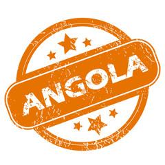 Angola grunge icon