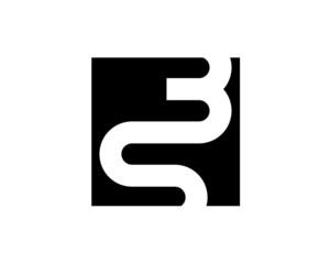 S B monogram