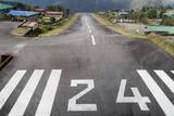 runway at Lukla airport
