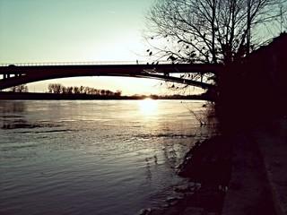 Sava river in zagreb