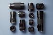 Leinwanddruck Bild - Collection of camera lens
