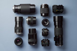 Collection of camera lens