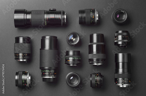 Collection of camera lens - 79576436