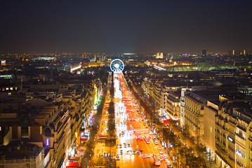 Skyline of Paris, France