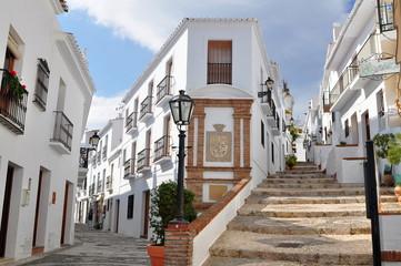 beautiful Frigiliana village,Spain