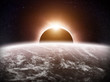 Eclipse on the planet Earth - 79579497