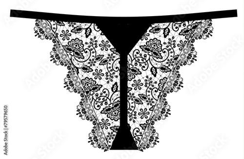 lace panties - 79579650