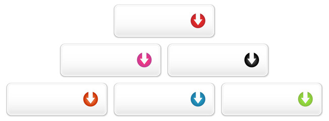 the white button with arrow