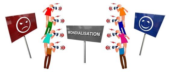 """Débat  """"Mondialisation pour ou contre"""""""