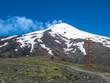 Sessellift am Vulkan Villarrica