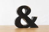 símbolo letra and
