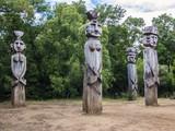Mapuche Denkmal Monumento Natural Cerro Nielol