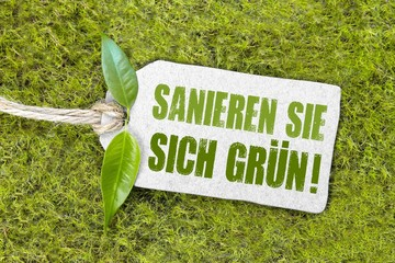 Sanieren Sie sich grün