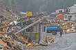 Leinwandbild Motiv 東日本大震災津波災害