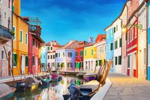 "Постер, картина, фотообои ""Burano Venice Italy"""
