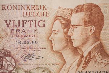 Banknote from Belgium