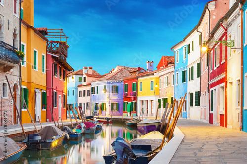 Staande foto Europese Plekken Burano Venice Italy