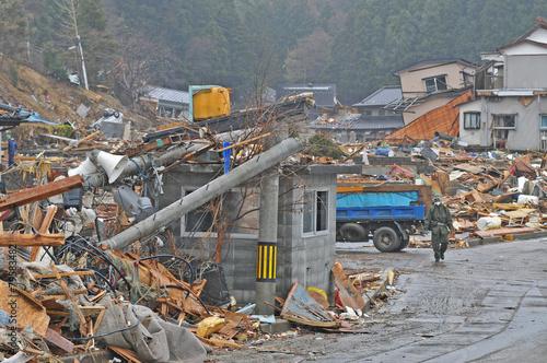 東日本大震災津波災害 - 79583482