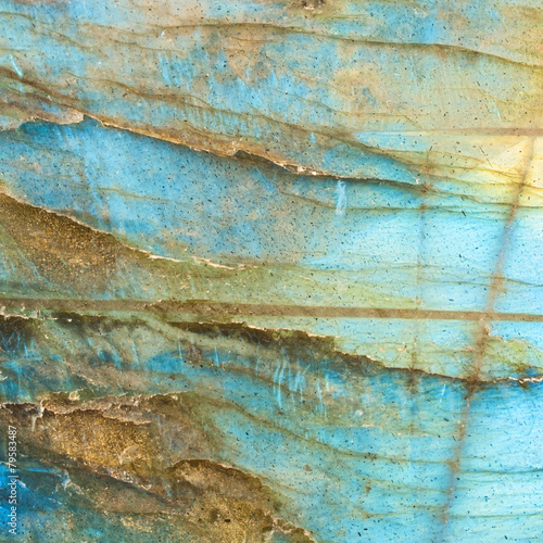 Abstract labradorite texture background. - 79583487