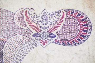 logo on the Thai banknote