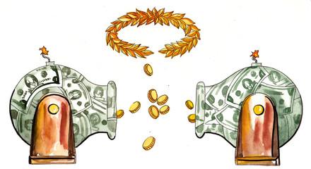 money cannon