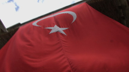 MCU PAN OF THE TURKISH FLAG