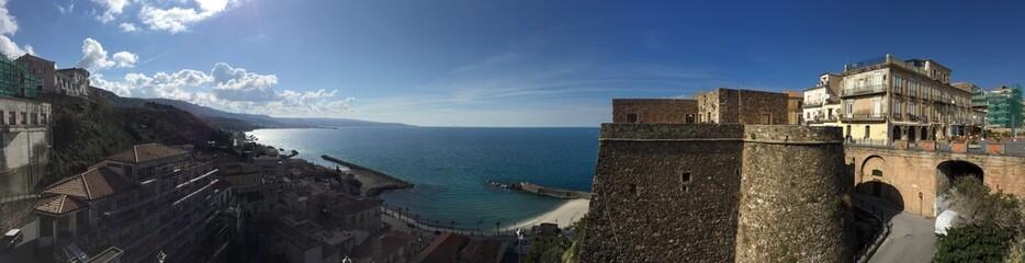 Pizzo Calabro panoramica mare e castello