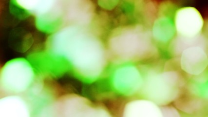 shining light green blue grey gold  abstract bokeh background