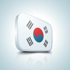 South Korea button
