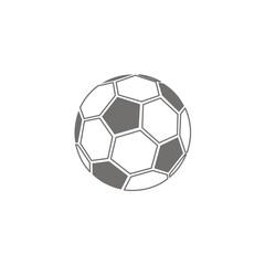 Icono balón fútbol clásico FB
