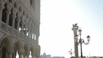 San Marco square and Doges's palace, Venetie