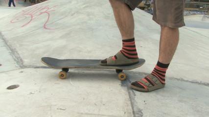 MALE PORTRAIT WITH SKATEBOARD