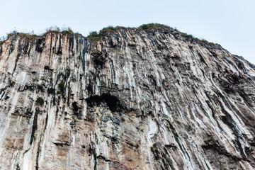 Bare cliff