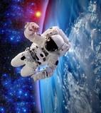 Astronaut Spaceman Suit Earth