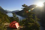 Camping en Patagonia