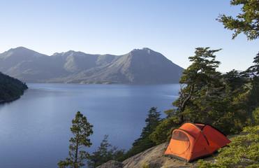 Acampando en Patagonia