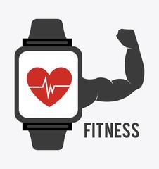 Fitness design, vector illustration.