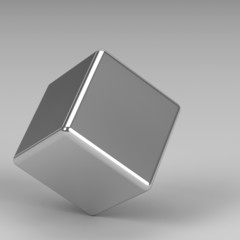 3d rendering abstract shapes